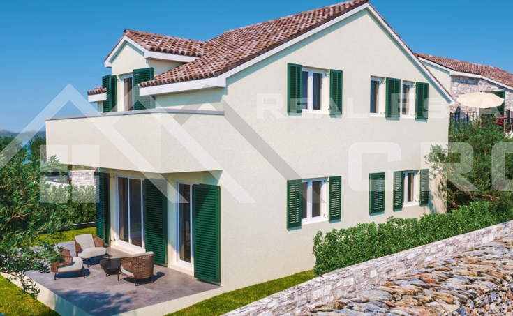 Sibenik properties - Lovely house under construction in peaceful location