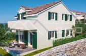 SI932, Nekretnine Šibenik - Lijepa kuća u mirnom okruženju u izgradnji na prodaju