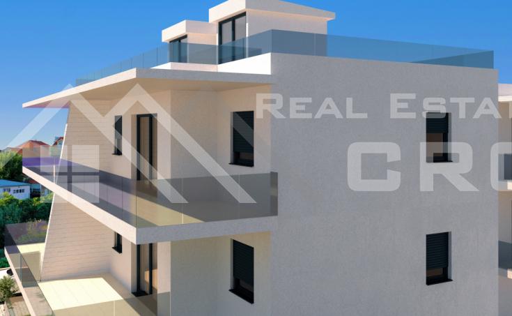 Nekretnine Vodice - Dvosoban stan u izgradnji u centru grada, na prodaju