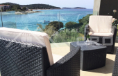 Modern house placed first row to the sea, in a charming surrounding, Rogoznica area, for sale (8)